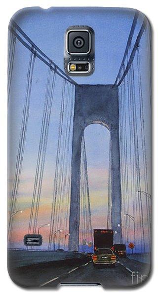 Bridge At Dawn Galaxy S5 Case