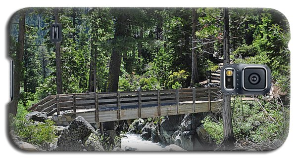 Bridge At Lake Tahoe Galaxy S5 Case