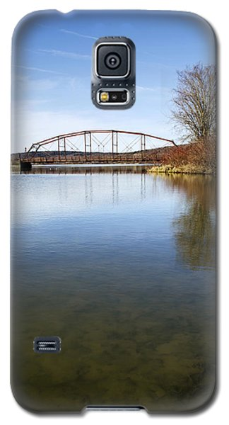 Galaxy S5 Case featuring the photograph Bridge At Upper Lisle by Christina Rollo