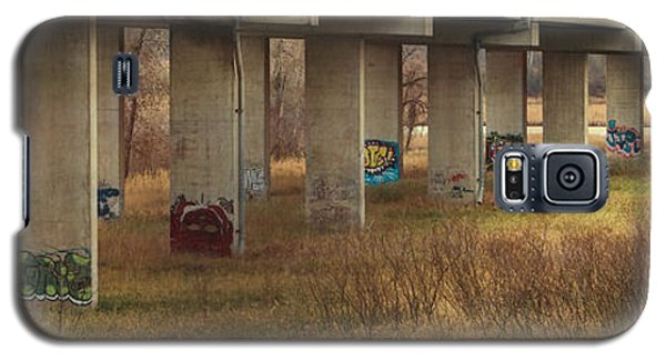 Bridge Graffiti Galaxy S5 Case by Patti Deters