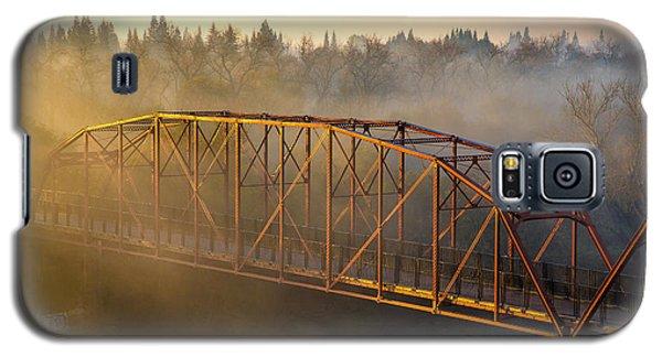 Bridge In Fog  Galaxy S5 Case