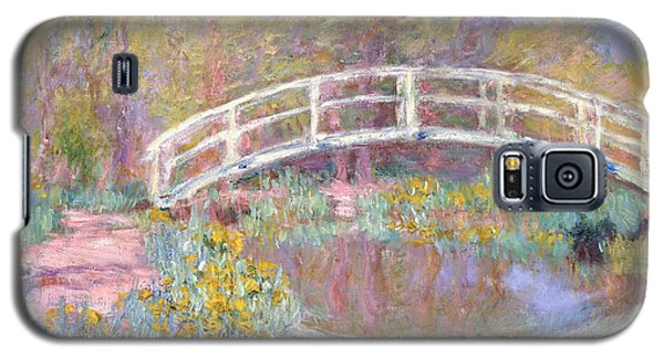 Architecture Galaxy S5 Case - Bridge In Monet's Garden by Claude Monet