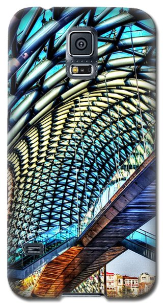 Bridge In The Air Galaxy S5 Case by Yury Bashkin