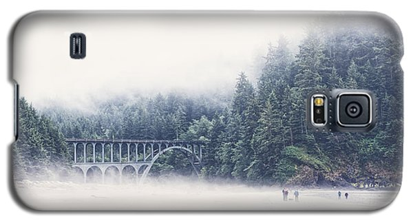 Bridge In The Mist  Galaxy S5 Case