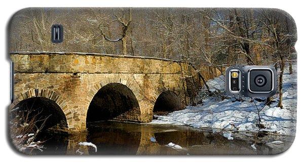 Bridge In Woods Galaxy S5 Case