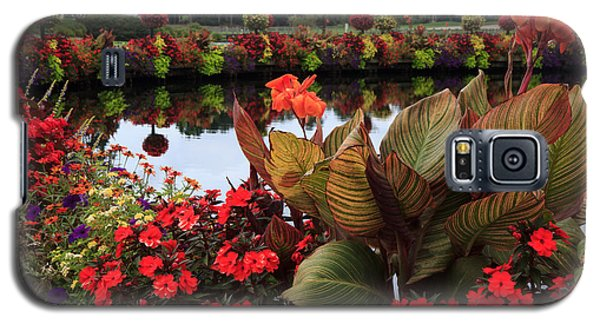 Bridge Of Flowers Galaxy S5 Case