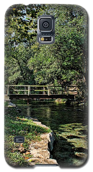 Bridge Of Serenity Galaxy S5 Case by Judy Vincent