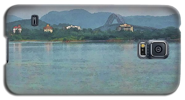 Bridge Of The Americas From Casco Viejo - Panama Galaxy S5 Case