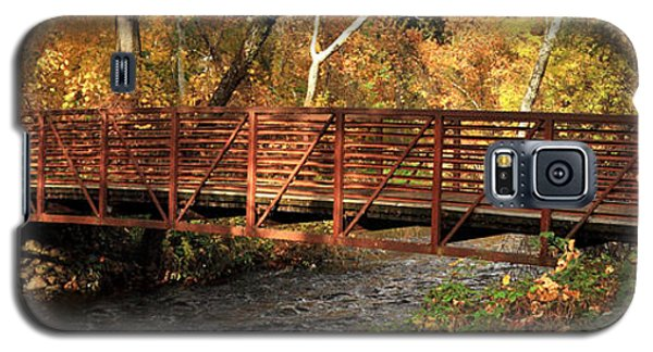 Bridge On Big Chico Creek Galaxy S5 Case