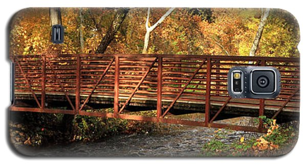 Bridge On Big Chico Creek Galaxy S5 Case