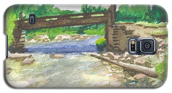 Bridge On The Red Cloud Loop Galaxy S5 Case