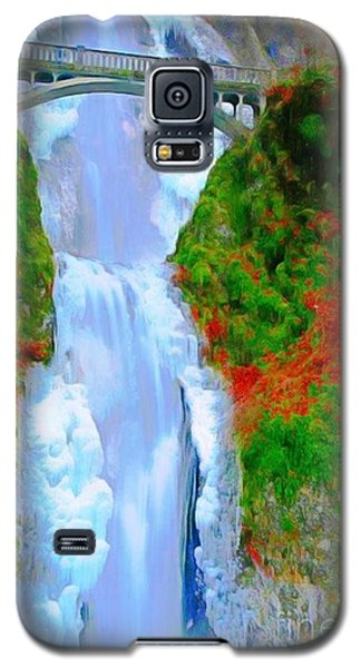 Bridge Over Beautiful Water Galaxy S5 Case