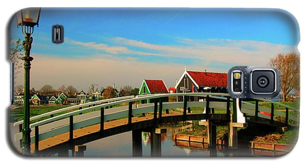 Galaxy S5 Case featuring the photograph Bridge Over Calm Waters by Jonah  Anderson