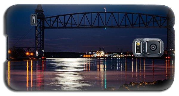 Bridge Over Moonlit Water Galaxy S5 Case