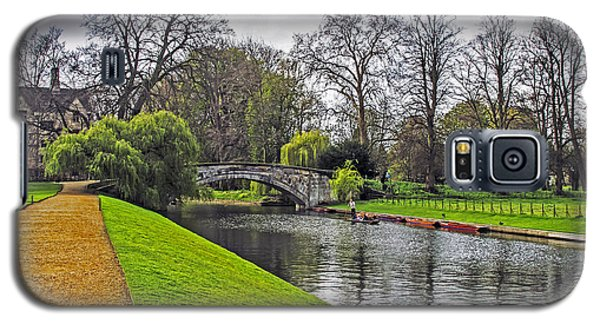 Bridge Over River Cam Galaxy S5 Case