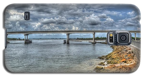 Bridge Over Sebastian Inlet Galaxy S5 Case by Timothy Lowry