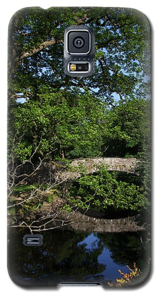 Bridge Over The River At Rydal Water Galaxy S5 Case by Graham Hawcroft pixsellpix
