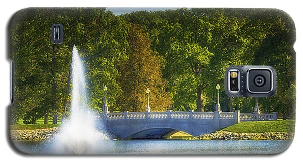 Galaxy S5 Case featuring the photograph Bridge Over Troubled Waters by Skip Tribby