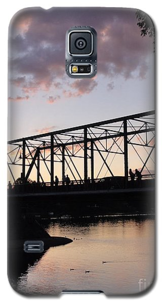 Bridge Scenes August - 1 Galaxy S5 Case