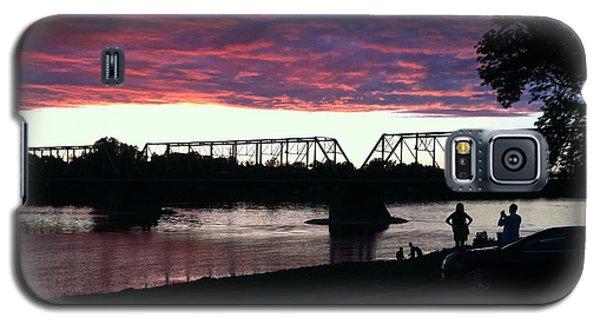 Bridge Sunset In June Galaxy S5 Case