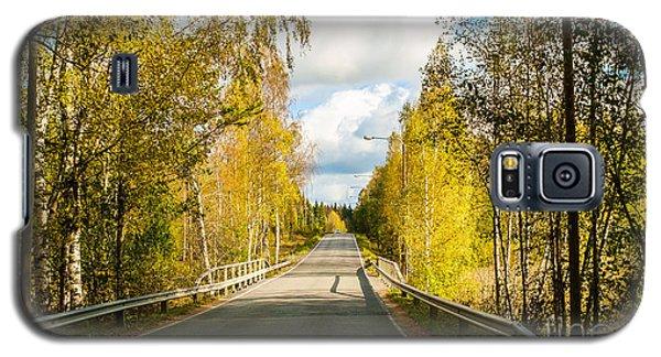 Bridge To Pretty Autumn Day Galaxy S5 Case