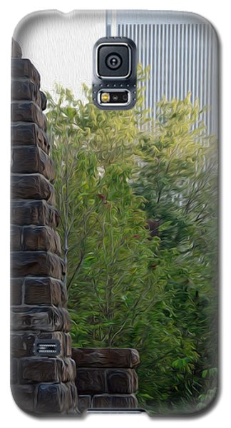 Galaxy S5 Case featuring the digital art Bridge To The Future by Kelvin Booker