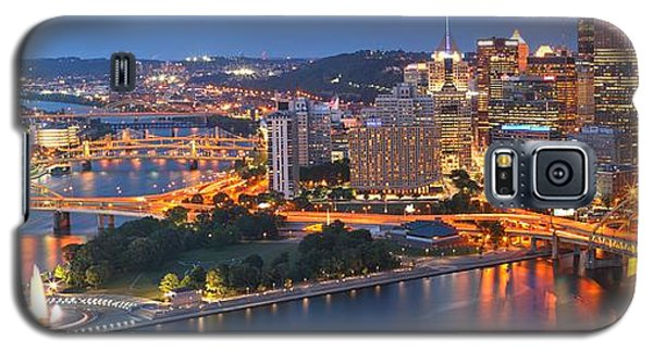 Bridge To The Pittsburgh Skyline Galaxy S5 Case