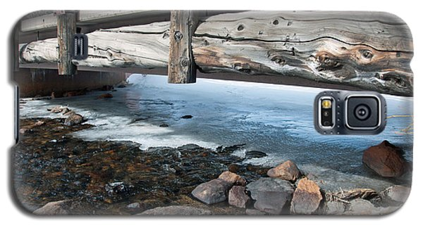 Galaxy S5 Case featuring the photograph Bridges by Minnie Lippiatt