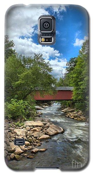 Bridging Slippery Rock Creek Galaxy S5 Case