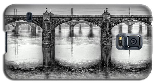 Galaxy S5 Case featuring the photograph Bridging The Susquehanna  by JC Findley