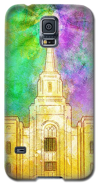 The Heavens Were Opened Galaxy S5 Case by Greg Collins