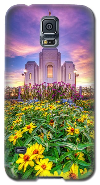Brigham City Temple Galaxy S5 Case