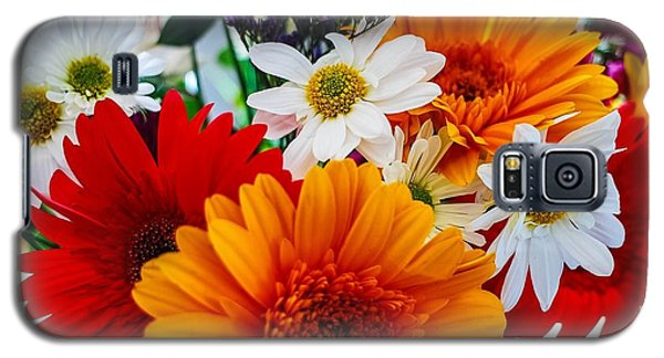 Galaxy S5 Case featuring the photograph Bright by Angela J Wright