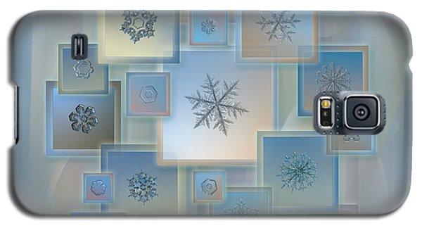 Snowflake Collage - Bright Crystals 2012-2014 Galaxy S5 Case