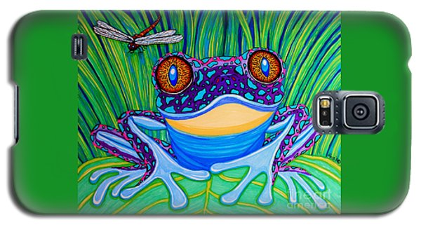Bright Eyed Frog Galaxy S5 Case