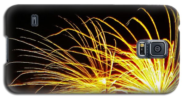 Bright Lights For The New Year Galaxy S5 Case by Brigitte Emme