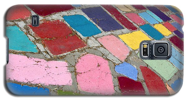 Bright Paving Stones Galaxy S5 Case