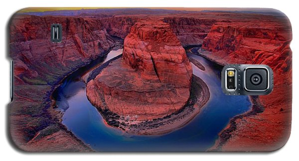 Bright Skies Over Horseshoe Galaxy S5 Case