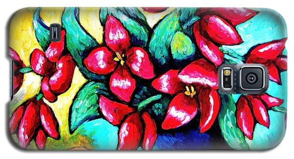 Bright Tulips Galaxy S5 Case