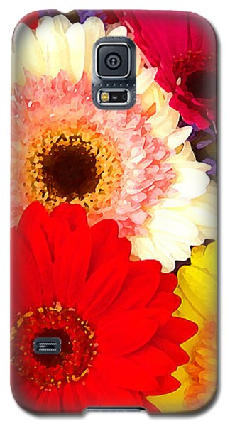 Brightly Colored Gerbers Galaxy S5 Case