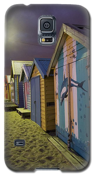 Galaxy S5 Case featuring the photograph Brighton Beach Huts Melbourne by Serene Maisey