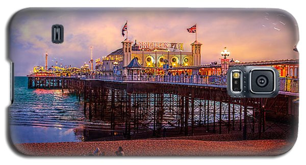Galaxy S5 Case featuring the photograph Brighton's Palace Pier At Dusk by Chris Lord
