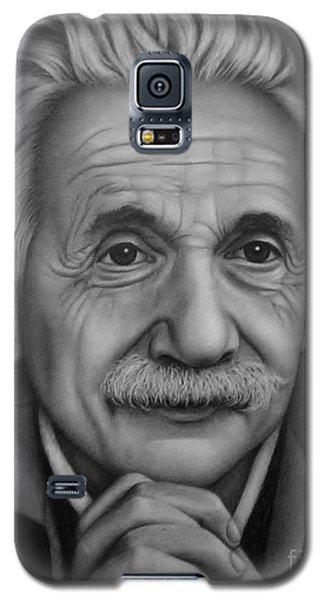 Galaxy S5 Case featuring the painting Brilliant Mind by Paula L