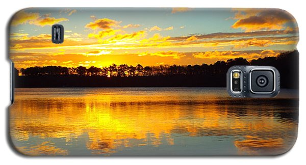 Galaxy S5 Case featuring the photograph Brilliant Sunrise by Dianne Cowen