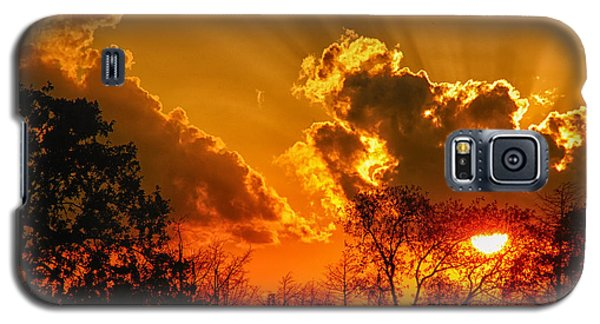 Brilliant Sunset Galaxy S5 Case