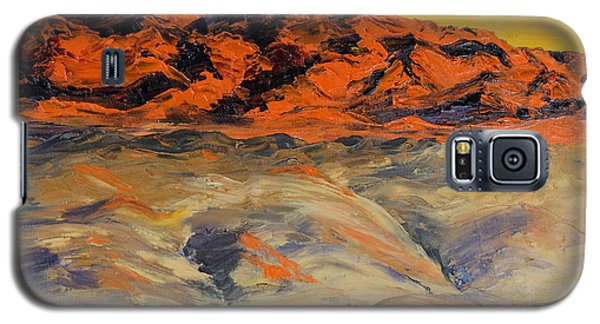 Brilliant Montana Mountains And Foothills Galaxy S5 Case