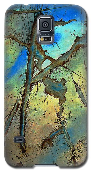 Galaxy S5 Case featuring the painting Brillig by Stuart Engel