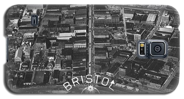 Bristol Virginia Tennessee Early Aerial Photo Galaxy S5 Case