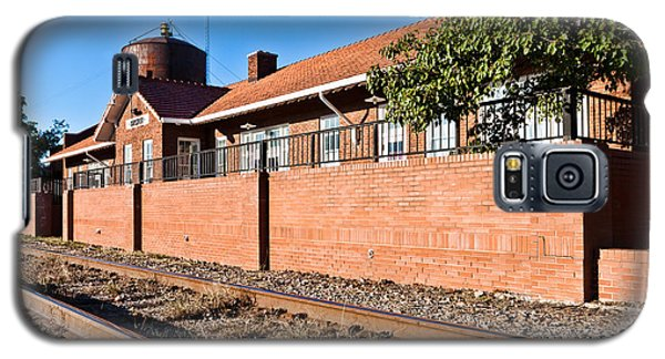 Bristow Oklahoma Train Depot Galaxy S5 Case