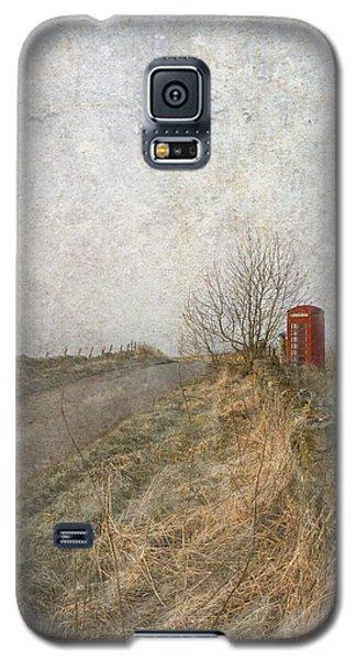 British Phone Box Galaxy S5 Case by Liz  Alderdice
